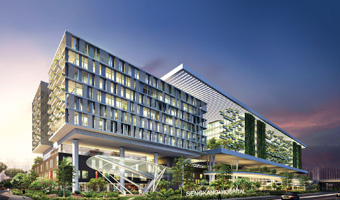 مستشفى متخصصة