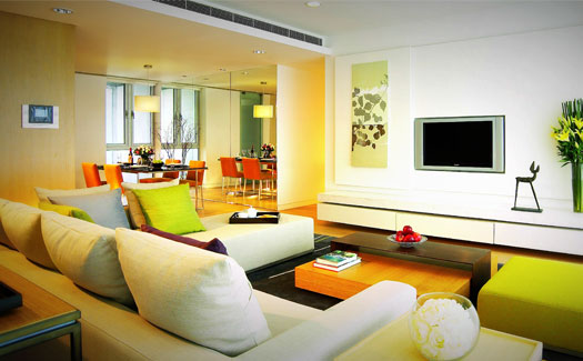 Hotel furnished apartments with an investment of 550 thousand dollars