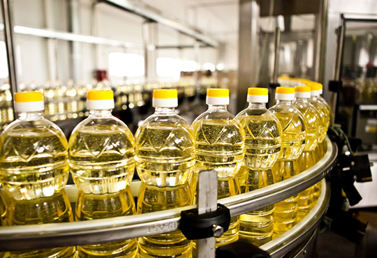 Corn and sunflower oil refining production line
