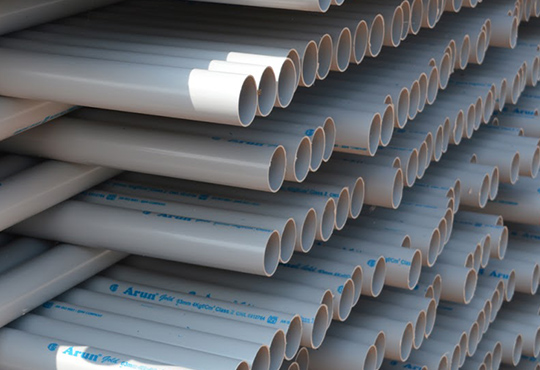 Factory for plastic pipes (PVC) of investment reaches $1.05 million