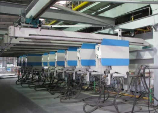 production line of glass