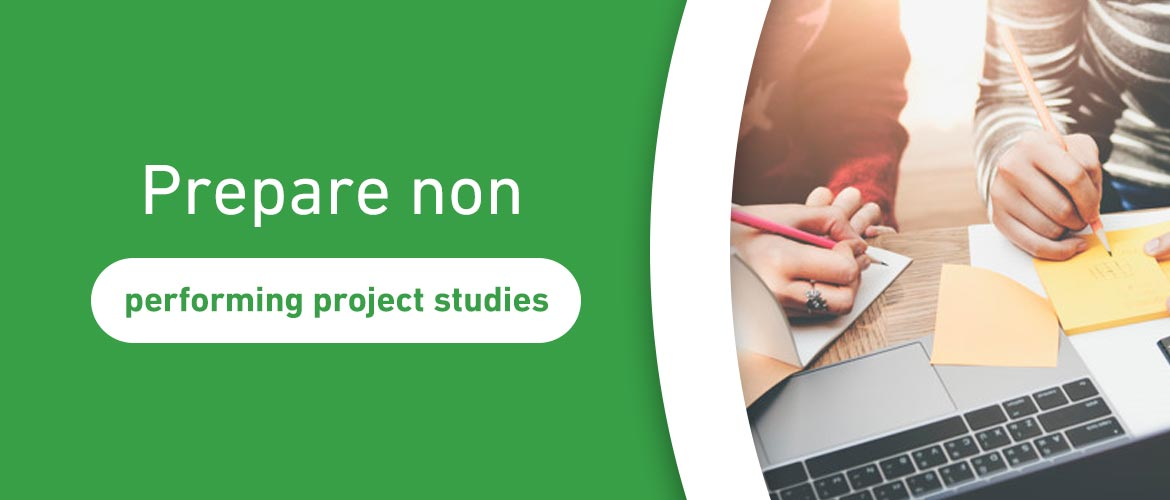 Prepare non-performing project studies