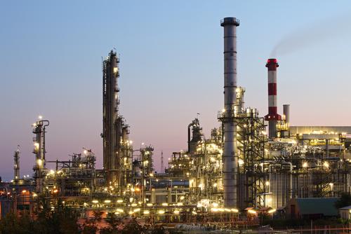 مصنع المواد الكيماوية الخاصة بالنفط والغاز الصناعي