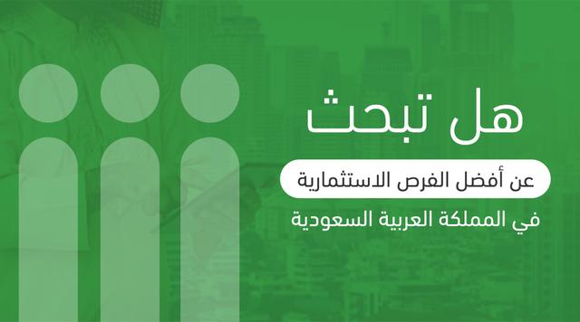 هل تبحث عن أفضل الفرص الاستثمارية في المملكة العربية السعودية؟